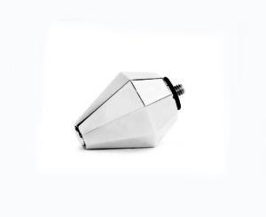 磁性角錐型傳導頭 (銀鑽) Silver head