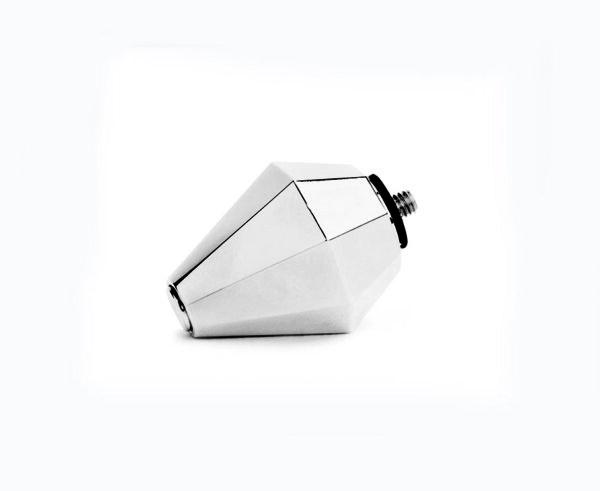 磁石角錐傳導頭 (銀鑽) Silver head